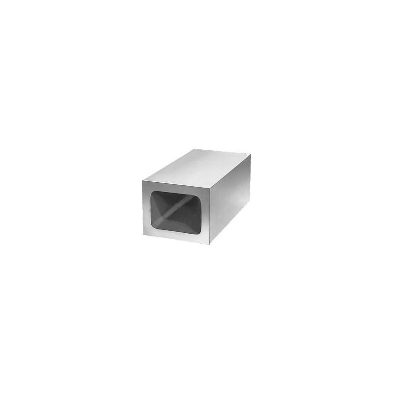 profilo tubolare rettangolare ferro nero