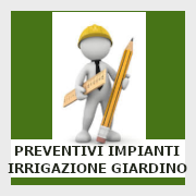 Preventivi impianti di irrigazione