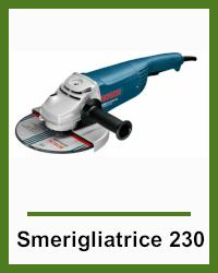 Noleggio Levigatrice 230 Bosch